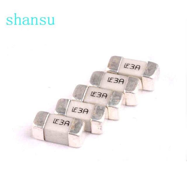 2410 A one-time SMD fuse Restore fuse 1808 0.1A 0.2A 0.25A 0.3A 0.5A 0.75A 1A 2A 3A 4A 5A 6.3A 7A 8A 10A 15A