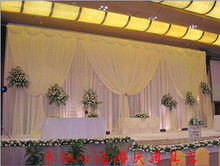 Top selling 10ft 3m 20ft 6m wedding backdrops for wedding decoration wedding favor wedding supply