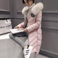 En iyi Kış Lady Doğal fox kürk yaka kadın Hakiki Kürk palto Kız gerçek tilki kürk yaka Kürk Kapüşonlu Ceket Sınırlı edition