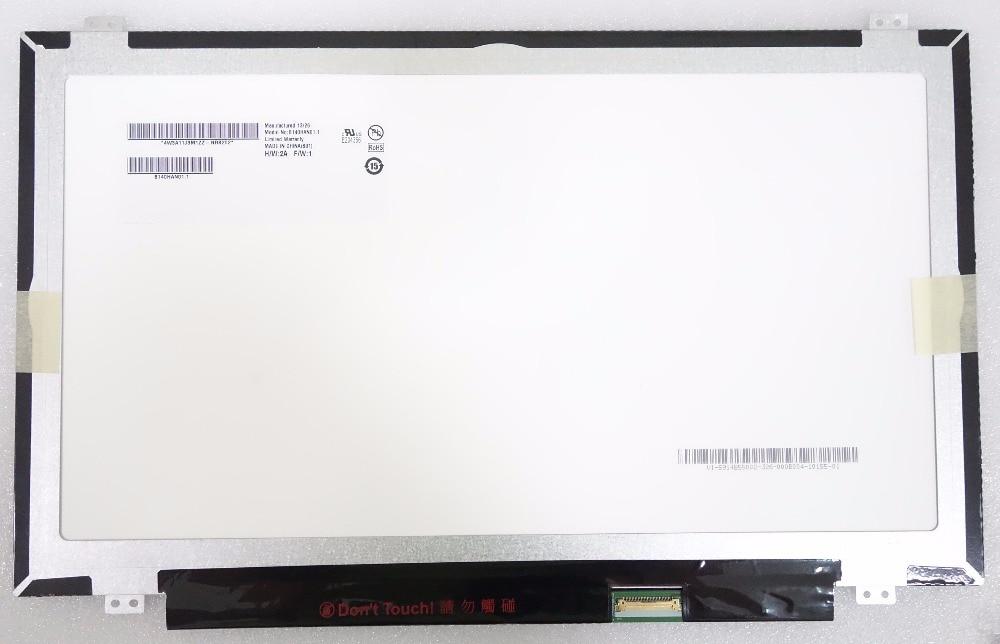 New Laptop LCD Screen AU Optronics B140HAN01.1 B140HAN01 B140HAN01.2 B140HAN01.3 Full-HD LCD Screen IPS FHD 1920*1080 eDP 30pin b140htn01 1 laptop lcd screen 1920 1080 fhd full hd display matrix original new edp 30pin