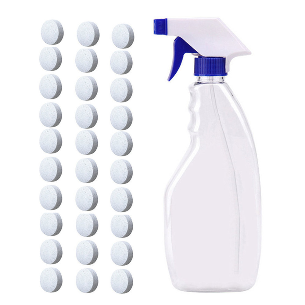 New 1pcs Multifunctional Effervescent Tablet Spray Cleaner