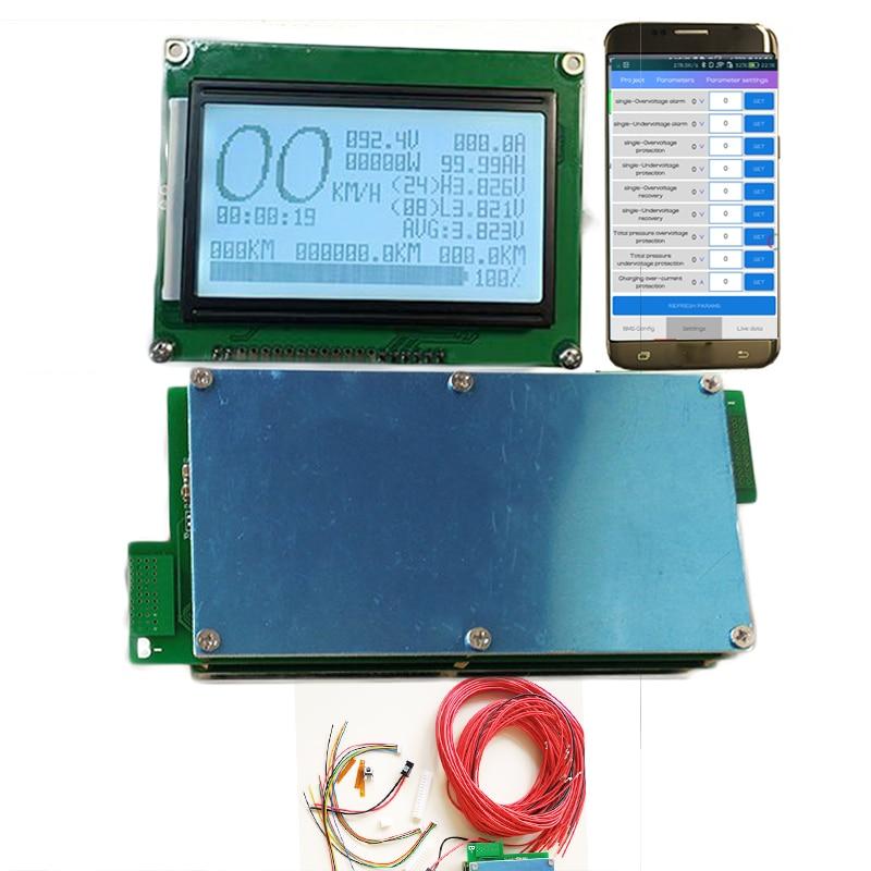 Videospiele Freundlich 8 S Zu 24 S Diy Lifepo4 Li-ion Lipo Lto Batterie Schutz Bord 300a 200a 150a 100a 70a Smart Bms Android Telefon Bluetooth App