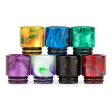 Resin Drip Tip for Most 810 Tank & UFORCE T2 Tank E-cig Vape Accessory Drip Tip for Drag 2/ Luxe Kit(China)