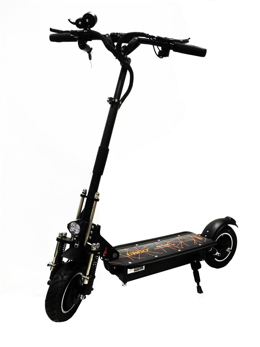 UBGO 1005 60 V/52 V doble unidad sin pausas bar 2000 W potente motor scooter Eléctrico