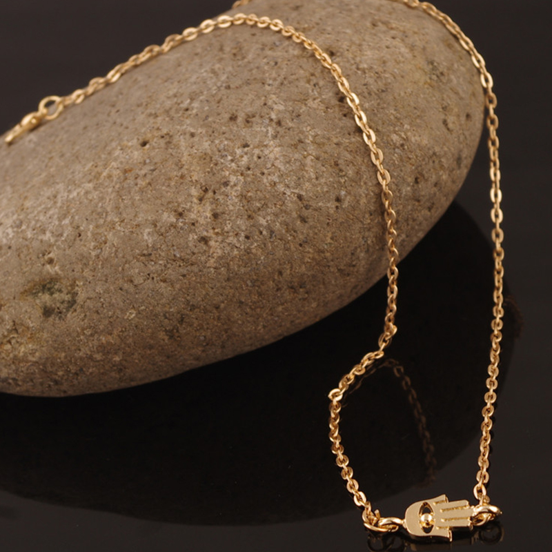 Gold-plated necklace hand Fatima necklace For Women XL209