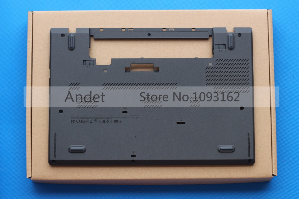 New Original For Lenovo ThinkPad T460 Lower Case Bottom Case Base Cover 01AW317 SCB0H21612 yaluzu new laptop bottom base case cover for lenovo y580 y585 y580n mainboard bottom casing case base replace d shell lower case