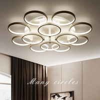 Nordic Living Room Ceiling Lights Creative Novelty Lamps Post Modern Simple LED Fixtures Home Bedroom Round