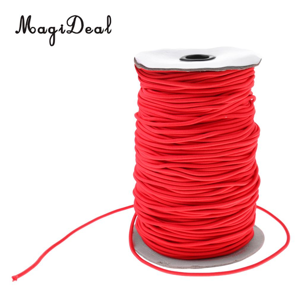 Choice of Length 5mm Elastic Bungee Rope Shock Cord Tie Down Stretch Band