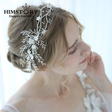 Роскошные хрустальные свадебные аксессуары для волос головная
