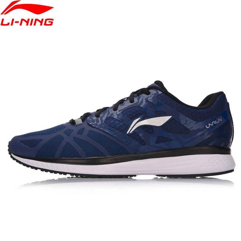 Li-ning hommes chaussures de course vitesse étoile respirant doublure baskets léger coussin chaussures de Sport ARHM021 XYP544