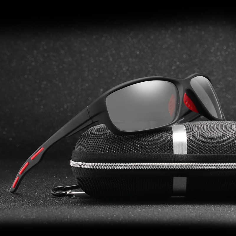 bc939e4bce Polarizada fotocromáticos gafas de Sol de las mujeres los hombres que  conducen los camaleón gafas de