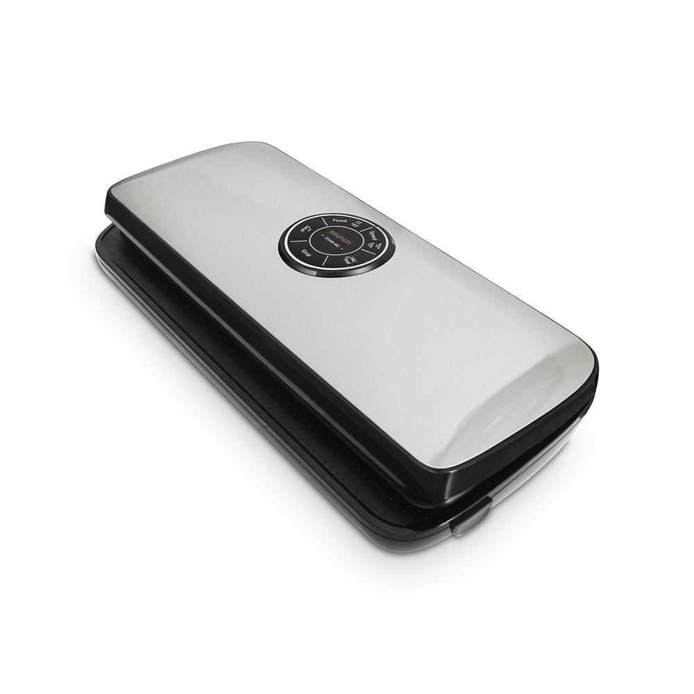 Вакуумный упаковщик автоматический вакуумный воздуха уплотнения Системы с ложкой шкала для Еда сохранение Starter Kit сухой и влажной Еда режим...