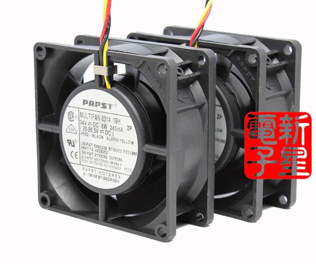 Livre Delivery.8314/19 H 8032 6.0 W DC24V fã inversor