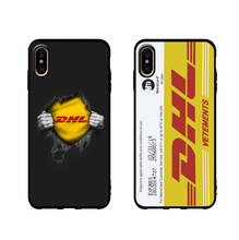 Subway card DHL fashion case for iphone X XS MAX XR 8 7 6 6s plus soft matte silicon trend coque fundas capa 8plus 7plus