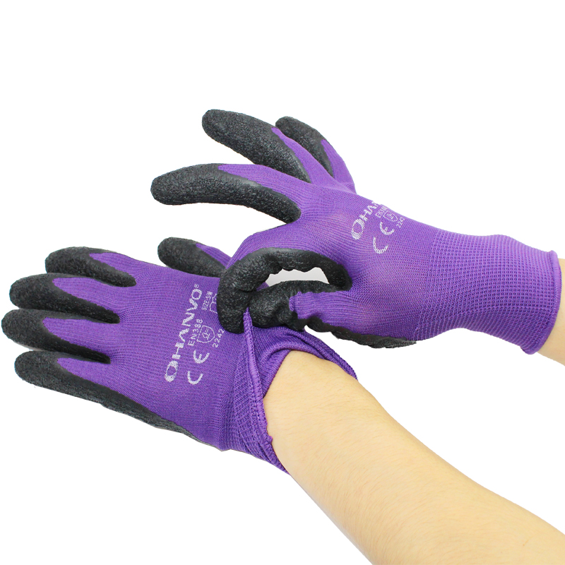 Gloves Garden Labor 13-Pin Polyester-Material Wear-Resistant Non-Slip Comfortable Anti-Thorn