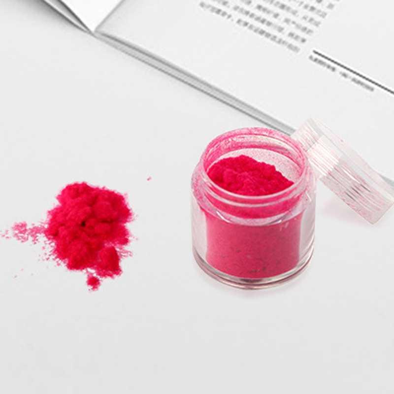 10 colores invierno flocado Navidad terciopelo uñas brillo polvo colorido para manicura DIY uñas Consejos decoraciones