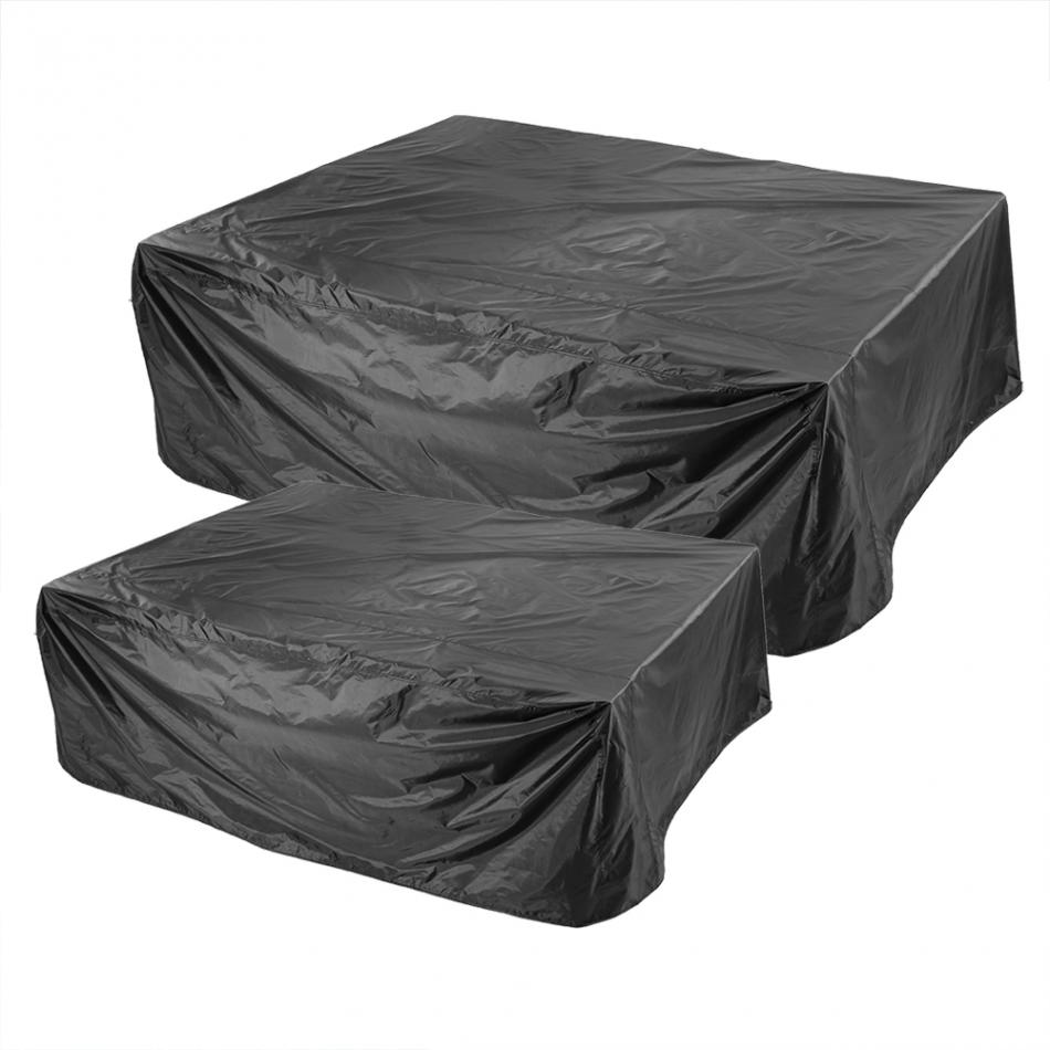Black Durable Waterproof Furniture Cover Sofa Chair Table