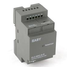 Умное реле, мини программируемый логический контроллер, PLC ELC-6DC-D-R