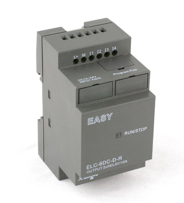 Smart Relay,mini Programmable Logic Controller,PLC ELC-6DC-D-R