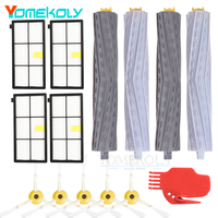 Extractor Filters Side Brush Sets For IRobot Roomba 800 900 Series 805 860 870 871 880