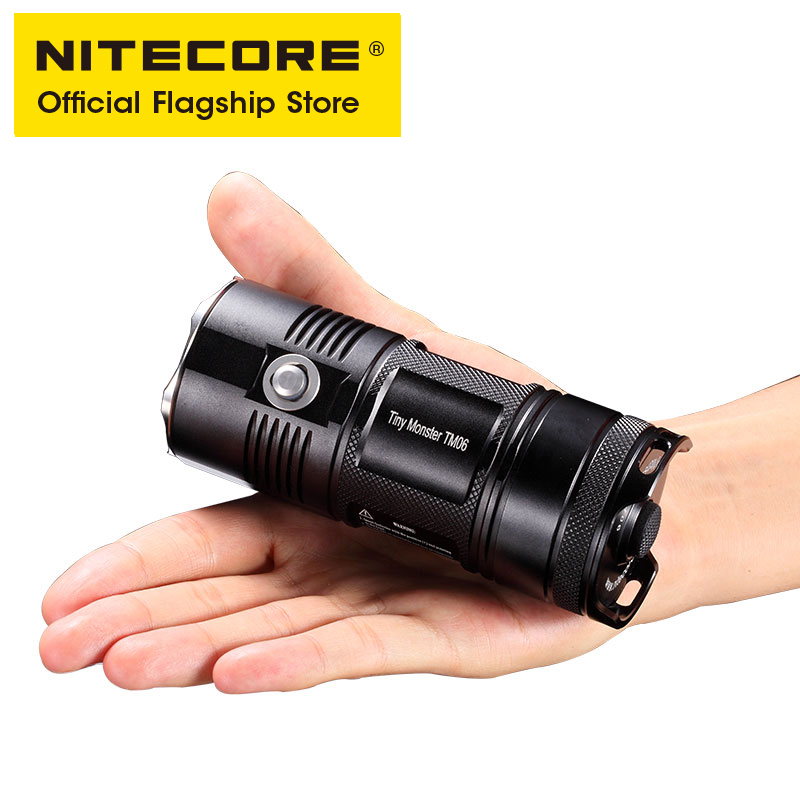 NITECORE TM06 Strong Light Long range Outdoor Rechargeable Waterproof Highlight Lithium Battery Flashlight - 2