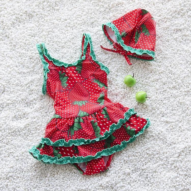 манежи baby design simple New Simple Design Kids Swimsuit Quality Girl Baby Princess Swimwear One-pieces Bath Suit Infant 3 Color Children Beachwear 3-10T