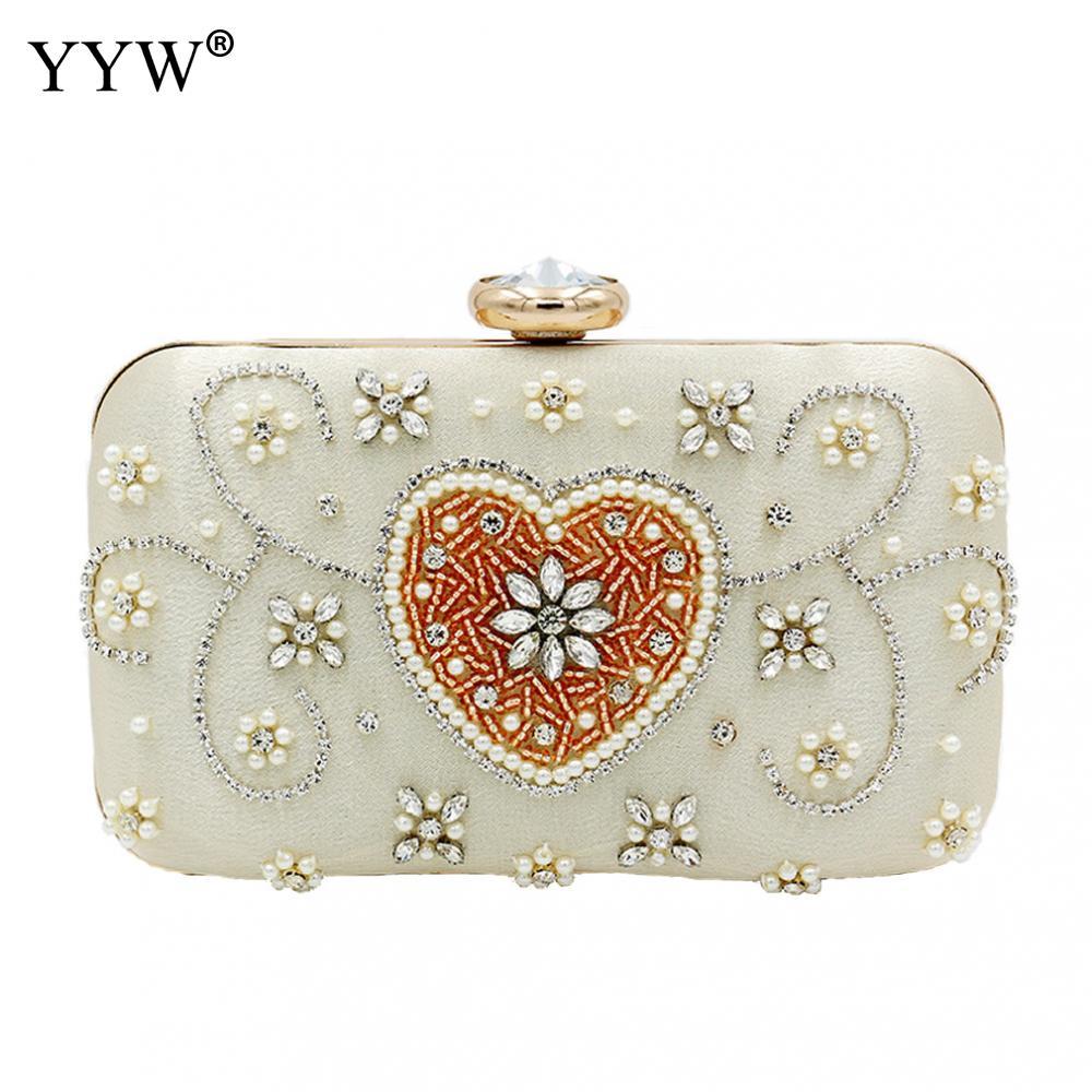 Women Wedding Clutch Purses Beaded Bag Evening Bag Wedding Handbag White Boutique Elegant Bohemian Party Bolsos Fiesta Mujer|Top-Handle Bags| - AliExpress