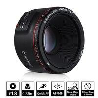 YONGNUO YN50mm F1.8 II Large Aperture Auto Focus Lens for Canon Bokeh Effect Camera Lens for Canon EOS 80D 70D 5D4 5D3 800D DSLR