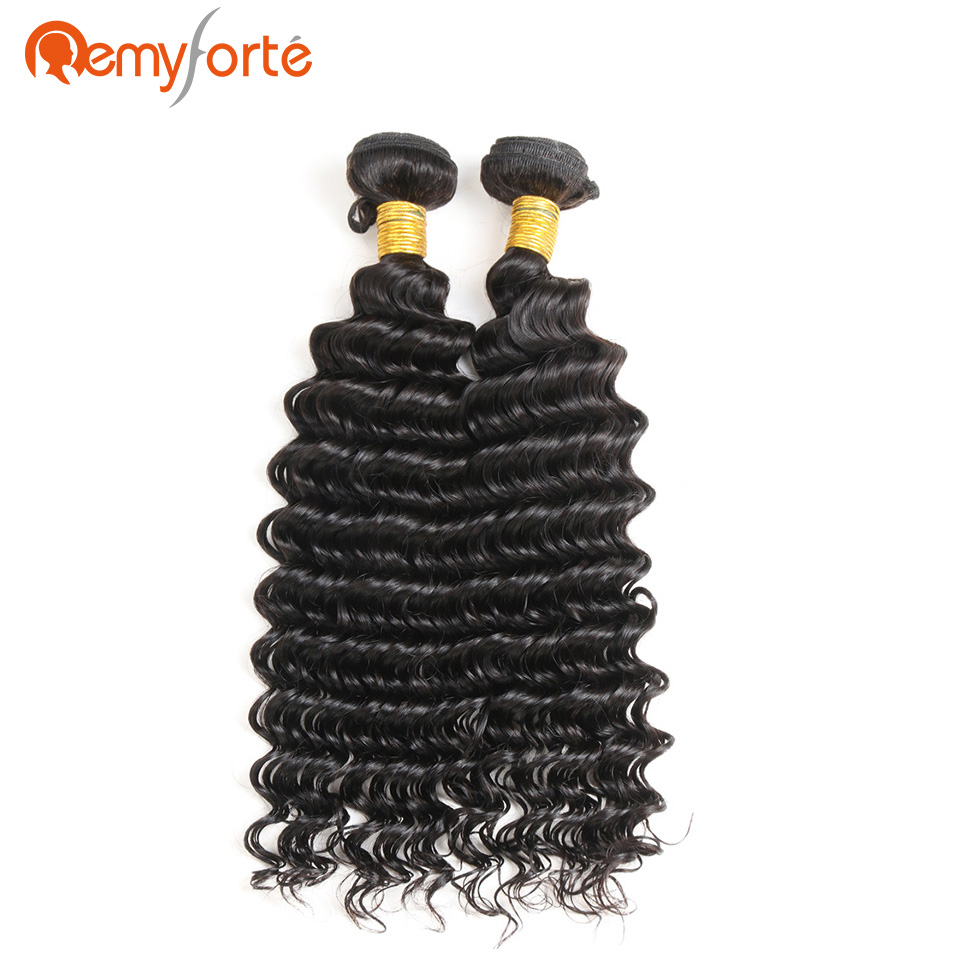 Hot Sale Remy Forte Wet And Wavy Human Hair Bundles Malaysian Deep