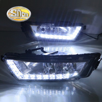 For Skoda Octavia A7 2014 2015 2016 With Yellow Turning Singal Function And Fog Lamp ABS