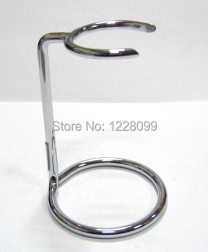 Pennello da barba metallo stand, supporto di spazzola, vestito per la maggior parte del manico del pennello