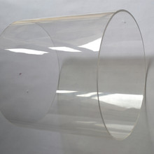 2 шт. OD400x5x1000mm акриловые трубы для украшения дома и сада PMMA большое литье Прозрачные Трубы из высокопрозрачного пластика PMMA Водопровод