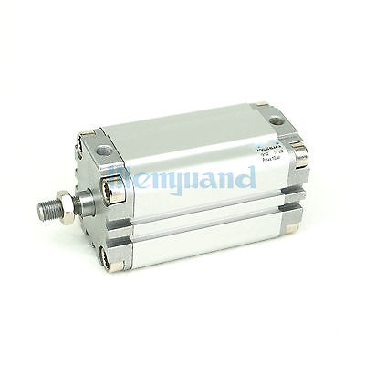 Stroke 80mm Bore 50mm ADVU-50-80-A-P-A Compact Pneumatic Cylinder Double Acting With Magnet adn 12 60 a p a adn 12 70 a p a adn 12 80 a p a adn 12 90 a p a adn 12 100 a p a compact cylinders pneumatic components