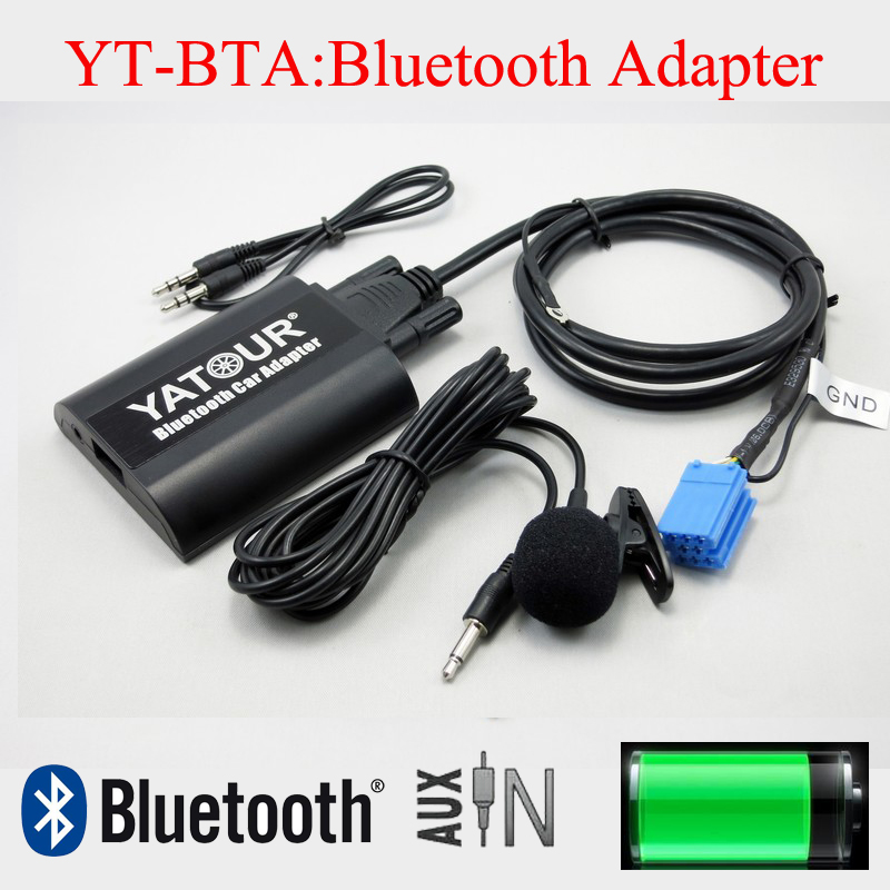Yatour Bluetooth car radio kit for Volkswagen AUDI Skoda Seat with AUX car usb sd aux adapter digital music changer mp3 converter for volkswagen beetle 2009 2011 fits select oem radios