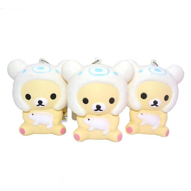 Rilakkuma Tag Squishy : 20 Pieces/lot New Cute Rilakkuma Squishy Japan Mascot Kawaii Scented Slow Rising Bear Pig ...