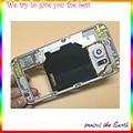 Новый Ближний Плиты Рамка Корпуса Рамка Для Samsung Galaxy S6 G9200 Двойной Sim-карты ближний корпус + Боковая Кнопка + Объектив Камеры + NFC