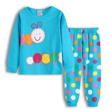 d6316cf67f Nuevos niños pijamas de dibujos animados pijamas niños manga larga ropa de  dormir de algodón pijamas para Niños traje de .