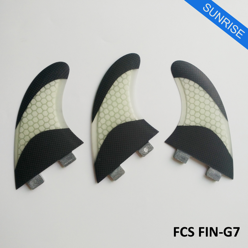 font b Surfboard b font Fin Surfing FCS G7 Fins Quilhas 5 Colors and Black