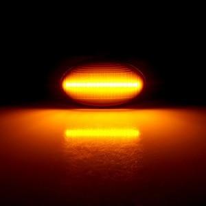 Image 5 - 2Pcs LEDแบบไดนามิกรถด้านข้างไฟสำหรับMercedes Benz Repeaterสัญญาณโคมไฟสมาร์ทW450 W452 A Class w168 Vito W639 W447