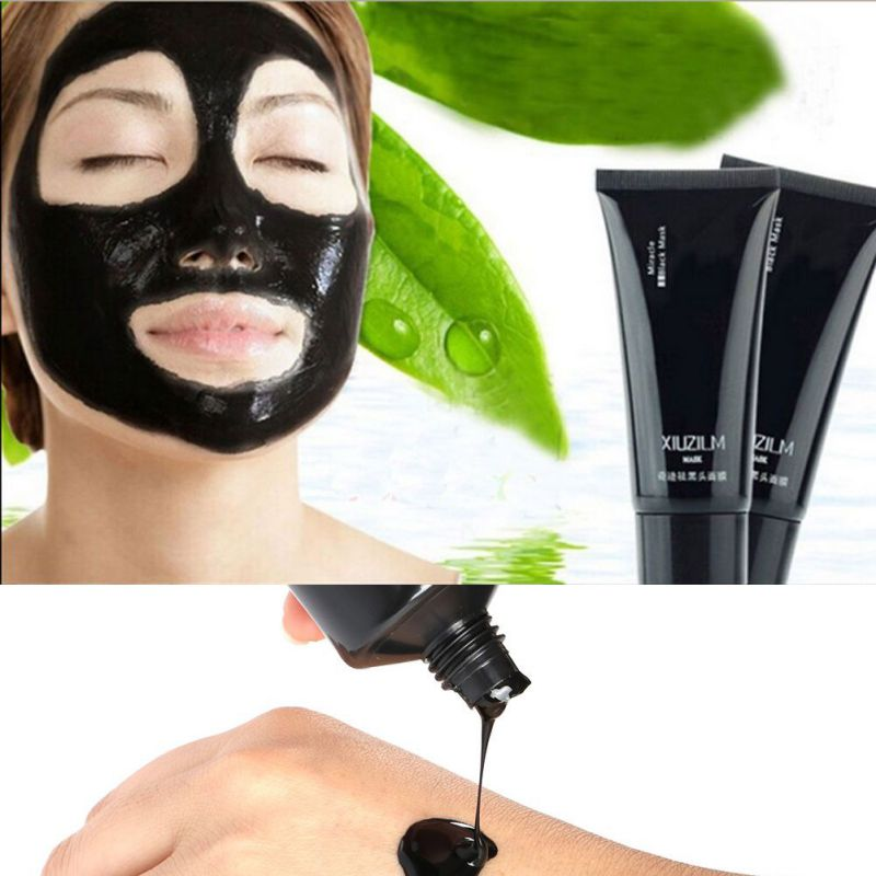 Face Care Suction Black Mask Facial Mask Nose Blackhead Remover Peeling Peel Off Black Head Acne Treatments Better Than