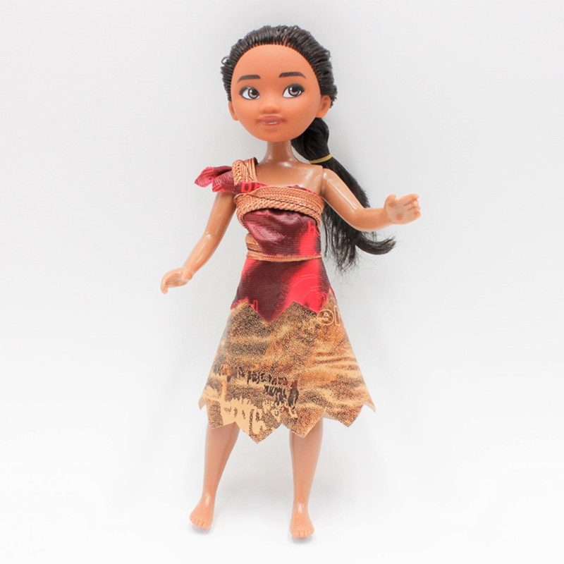 Disney 2017 New Cartoon Movies Moana 12 24cm Dolls Ocean
