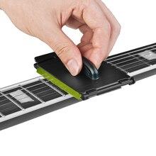 1 шт. электрическая гитара бас струны скруббер потертый чистящий инструмент Уход за обслуживанием гитара струны очиститель аксессуары для гитары