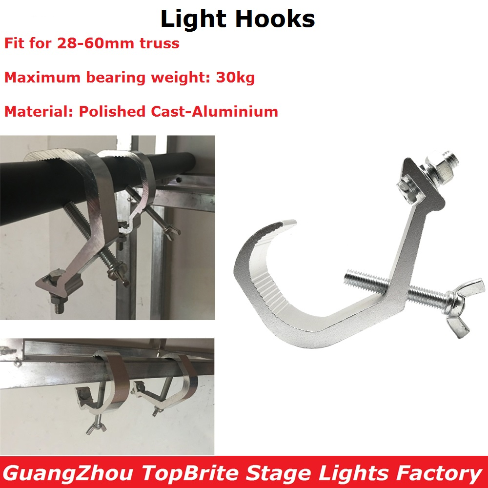 Aluminum Lights Hook LED Par Hooks Professional Stage Dj Stage Equipments Led Stage Light Truss Dj
