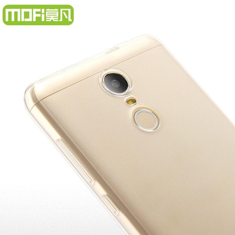 Xiaomi Redmi Note 3 чехол ТПУ мягкий чехол прозрачный защитный чехол MOFI  оригинальный Redmi Note 3 задняя крышка ультратонких пленка 5.5 дюйма 0dc4c1fc264