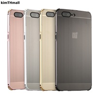 Case For One Plus 3 3T 5 5T Case Luxury Aluminum Bumper PC Metal Mirror Hard