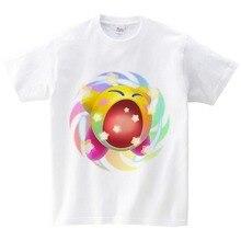 New Fashion Kids Sport Kirby Game T-shirt Children Short Sleeve 2019 Design for  Costume