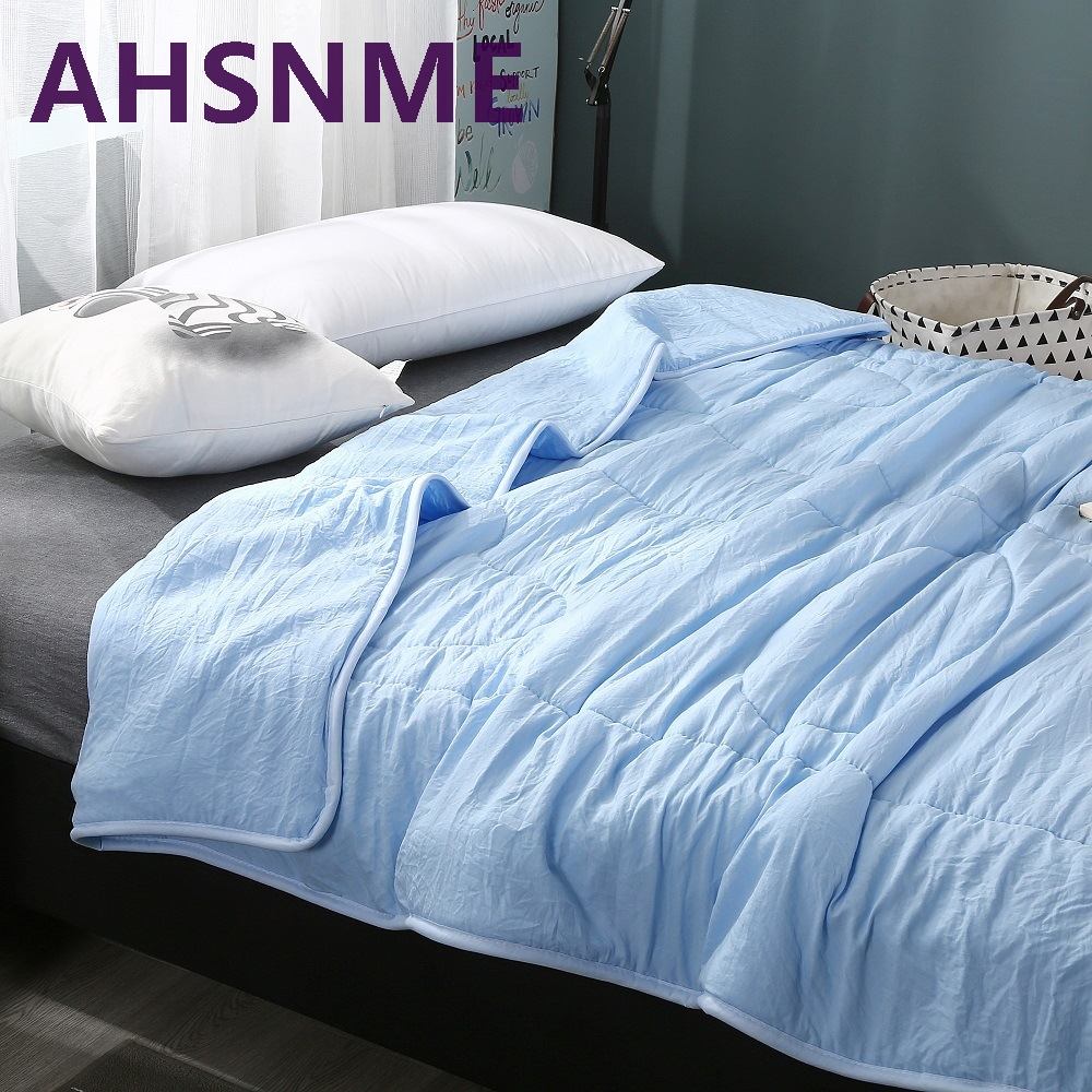 ahsnme blanket summer quilt double king size blanket 100 cotton blanket on the bed super - King Size Blanket