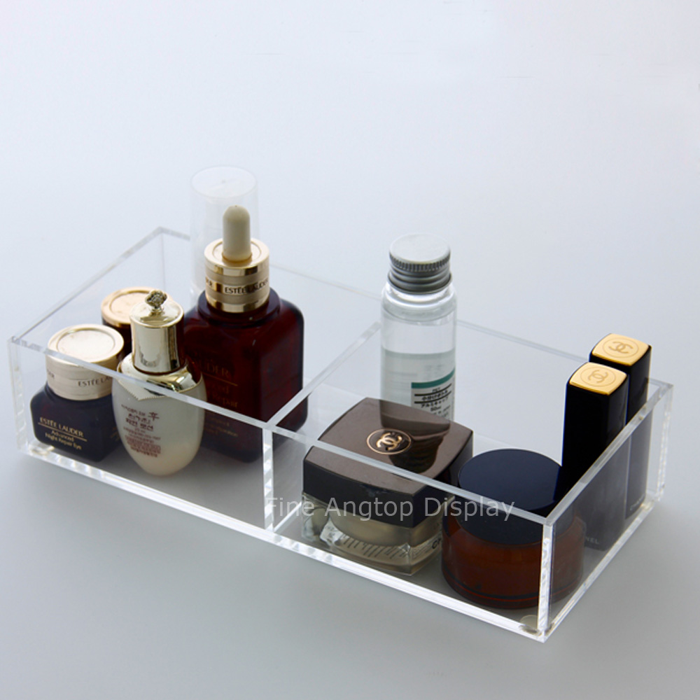 Acrylic Holder Makeup Organizer Box Cosmetic Lipstick Perspex Storage Case Clear Jewelry Display цена