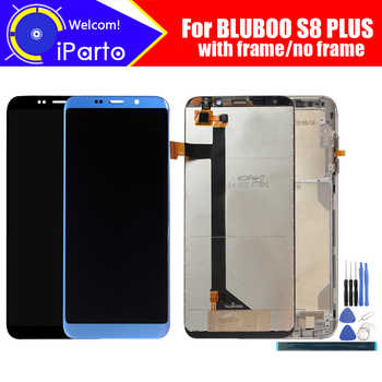 6.0 inch BLUBOO S8 PLUS LCD Display+Touch Screen Digitizer Assembly 100% Original New LCD+Touch Digitizer for S8 PLUS +Tools