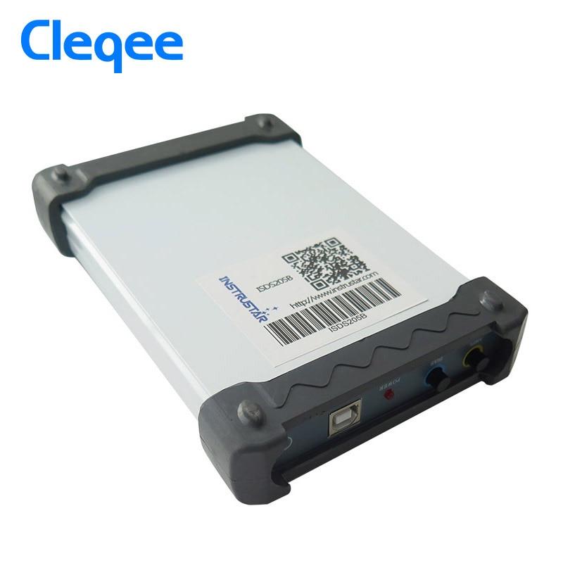 ISDS205B 5 IN 1 Multifunktionale PC Basierend USB Digital Oscilloscop/Spectrum Analyzer/ DDS/Sweep/Daten Recorder 20M 48 MS/s Freies Schiff